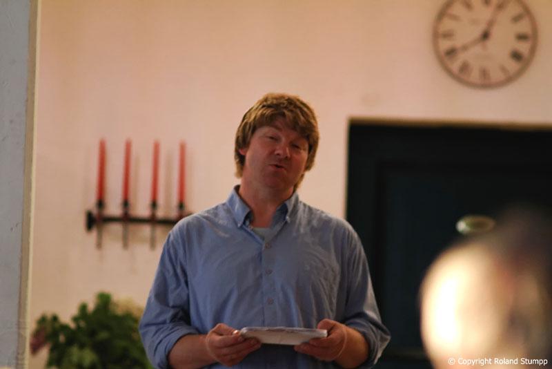 Lesung von Matthias Stührwoldt in Thomsens Peerstall