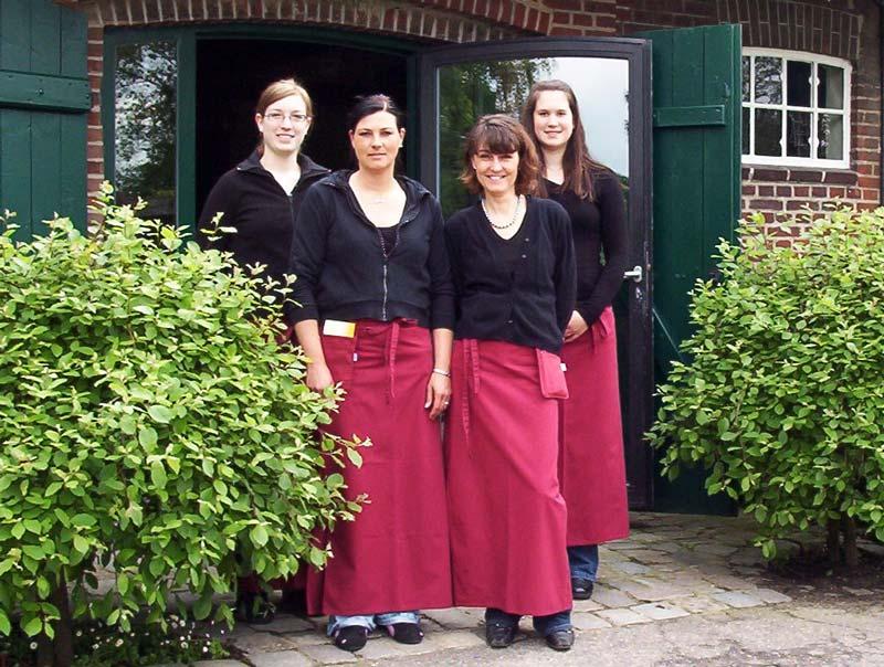 Das Team vom Bauernhof-Café