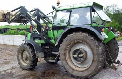Traktor Deutz DX 6.1